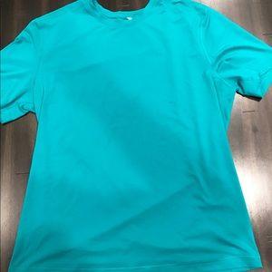 Men's Lululemon Shirt (turquoise color)